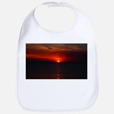 Deep color sunset Bib