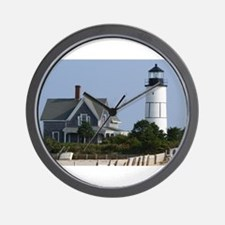 Cape Cod Lighthouse Wall Clock