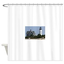 Cape Cod Lighthouse Shower Curtain