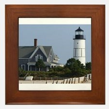 Cape Cod Lighthouse Framed Tile