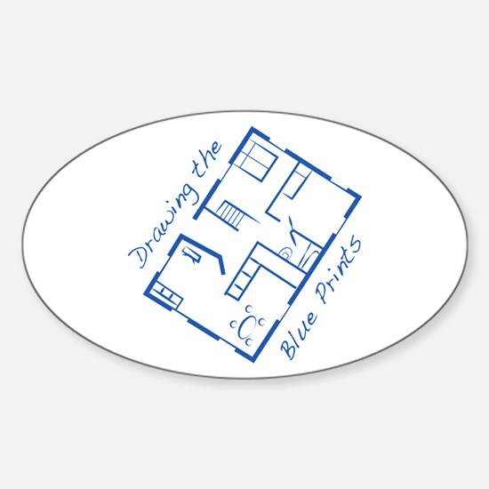 The Blue Prints Decal