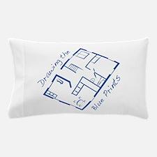 The Blue Prints Pillow Case