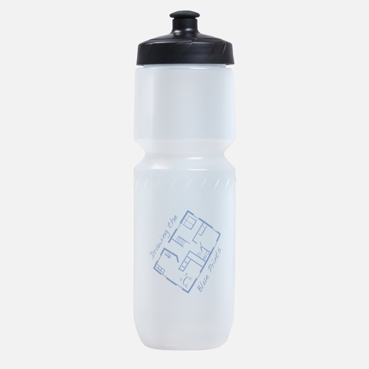 The Blue Prints Sports Bottle
