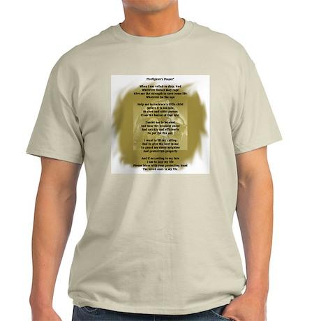 Firefighter's Prayer Light T-Shirt