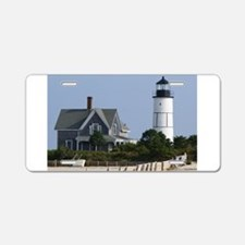 Cape Cod Lighthouse Aluminum License Plate