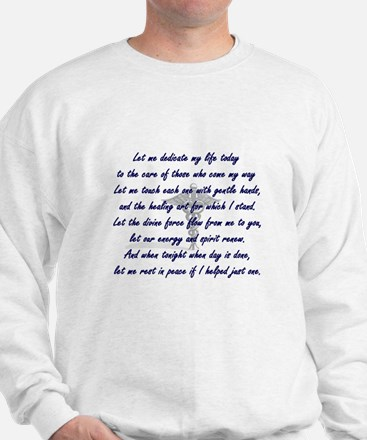 Physical Therapist's Prayer Sweatshirt