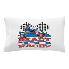 Ready to Race Go Kart Pillow Case