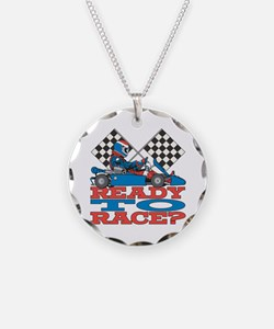 Ready to Race Go Kart Necklace