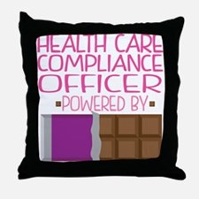 Health Care Compliance Officer Throw Pillow