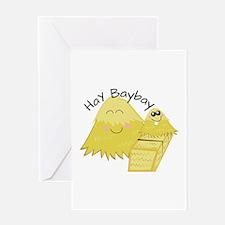 Hay Baybay Greeting Cards