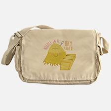 Needle In Haystack Messenger Bag