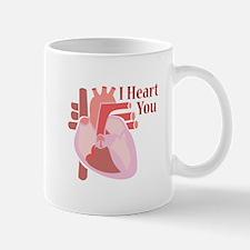 I Heart You Mugs
