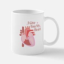 Give My Heart Mugs