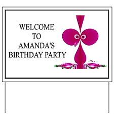AMANDA Yard Sign