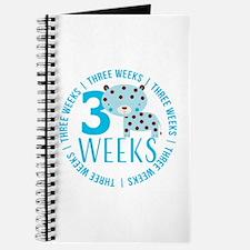 Cute Blue Tiger 3 Weeks Old Journal