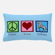 Blue Zebra Pillow Case