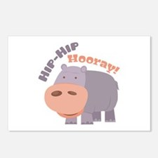 Hip Hip Hooray Postcards (Package of 8)