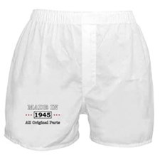 Made in 1945 All Original Parts Boxer Shorts
