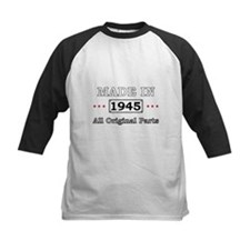 Made in 1945 All Original Parts Baseball Jersey