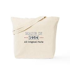 Made in 1954 All Original Parts Tote Bag