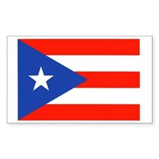 Puerto Rican Boricua Flag Band Decal