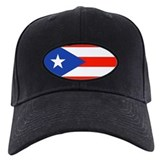 Mens puerto rican Black Hat
