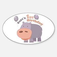 1st Birthday Decal