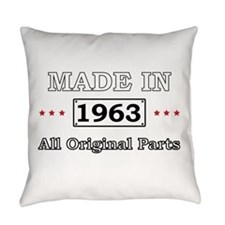 Made in 1963 - All Original Parts Everyday Pillow