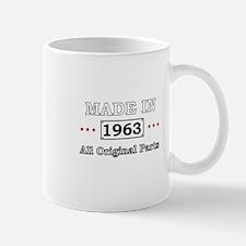 Made in 1963 - All Original Parts Mugs