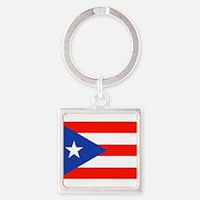 Puerto Rican Boricua Flag Bandera Orgull Keychains