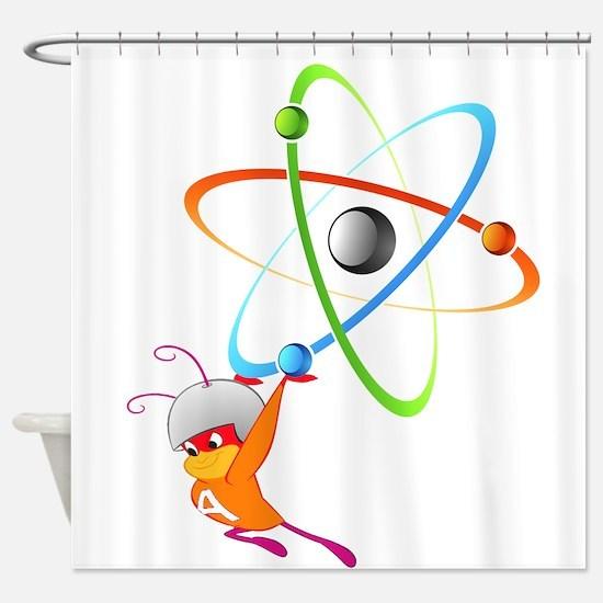 Atom Ant Shower Curtain