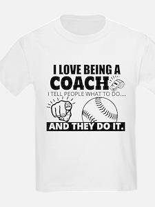 Baseball Coach Humor T-Shirt