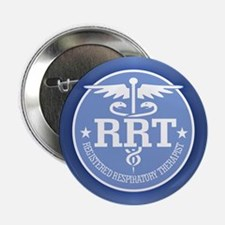 "Cute Medical respiratory therapist 2.25"" Button"