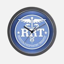 Cute Respiratory therapy Wall Clock