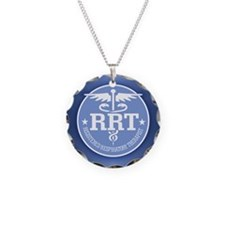 Unique Respiratory therapy Necklace Circle Charm