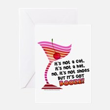 But it's got BOOZE! Greeting Cards