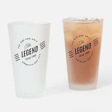 Birthday Born 1985 The Legend Drinking Glass