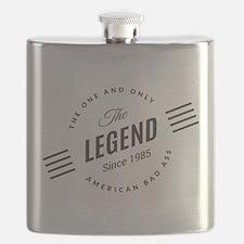 Birthday Born 1985 The Legend Flask