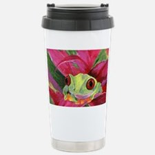 Ruby Tree Frog Stainless Steel Travel Mug