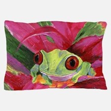 Ruby Tree Frog Pillow Case