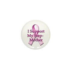 I Support My Stepmother Mini Button (100 pack)