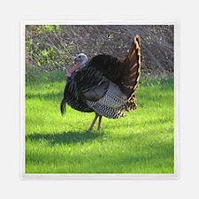 Unique Turkey bird Queen Duvet