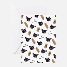 Je t'aime My Frenchie Greeting Cards
