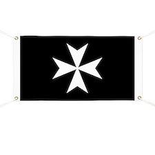 Knights Hospitaller Cross Banner