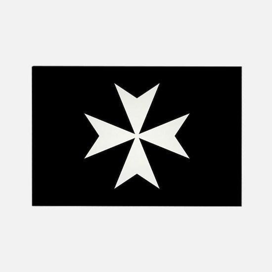Knights Hospitaller Cross Rectangle Magnet
