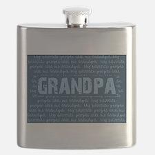 My Favorite People Call Me GRANDPA Flask