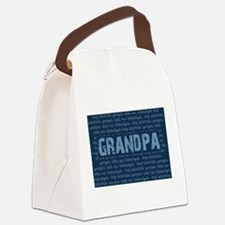 My Favorite People Call Me GRANDPA Canvas Lunch Ba