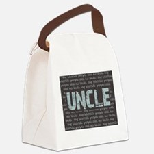 My Favorite People Call Me UNCLE Canvas Lunch Bag