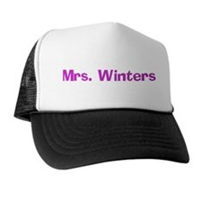 Mrs. Winters Trucker Hat