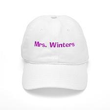 Mrs. Winters Baseball Cap